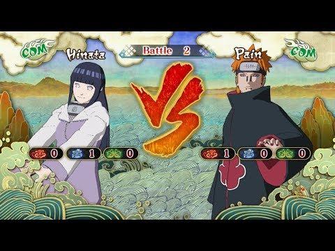 Naruto Shippuden: Ultimate Ninja Storm 3, Hinata Hyuga VS Pain!