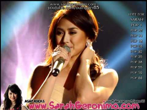 Sarah Geronimo - California King Bed  [SOS: Sarah OnStage] OFFCAM - (30Oct11)