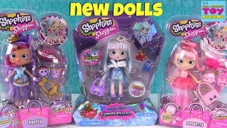 getlinkyoutube.com-NEW Shoppies Pirouetta Kirstea Gemma Stone Shopkins Doll Review Unboxing | PSToyReviews