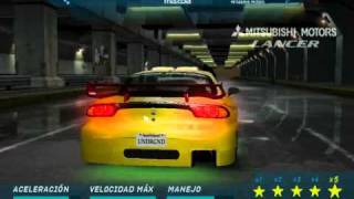 getlinkyoutube.com-Need For Speed Underground tuned cars