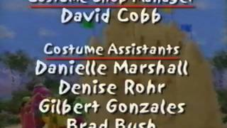 getlinkyoutube.com-Closing to Barney's Beach Party 2002 VHS