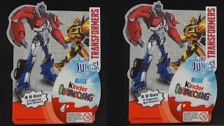 getlinkyoutube.com-Kinder Überraschung - Transformers [Limited Special 2014] Kinder Surprise Egg