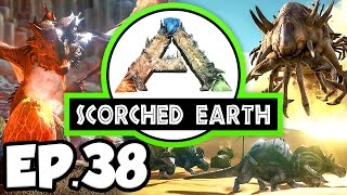 getlinkyoutube.com-ARK: Scorched Earth Ep.38 - MYSTERIOUS DEATH & AIR CONDITIONER!!! (Modded Dinosaurs Gameplay)