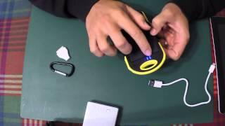 getlinkyoutube.com-Powerbank 5000mAh with Solar Charger