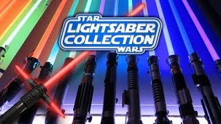 Star Wars Saga Lightsabers