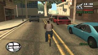 getlinkyoutube.com-GTA San Andreas get muscle, fatness, stamina, weapons and cycling skill