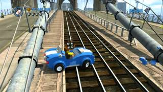 getlinkyoutube.com-LEGO City Undercover - All 13 Vehicle Robberies Completed