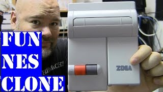 getlinkyoutube.com-Zoga NES-101 Nintendo clone - review and tear down with surprise inside