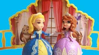 getlinkyoutube.com-Disney Sofia Die Erste deutsch Sofia & Amber // Sofia the First Dancing Sisters