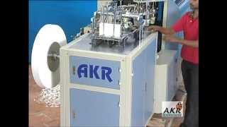 getlinkyoutube.com-PAPER CUP FORMING MACHINE - AKR PC 850