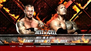 getlinkyoutube.com-WWE 2K16 Randy Orton Vs. The Rock Hell In A Cell Gameplay PS3 HD