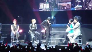 getlinkyoutube.com-[HD] JYJ NYC Showcase Interview Q&A Part 1 11-12-10