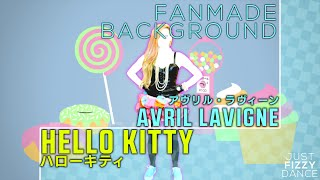 getlinkyoutube.com-Hello Kitty - Avril Lavigne | Just Dance Fanmade Background [Closed Contest]