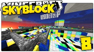 Minecraft | THE $12,000,000 ACCIDENT... | Skyblock Survival [8]
