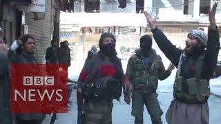 getlinkyoutube.com-Syria: Islamic State video claims Yarmouk capture - BBC News
