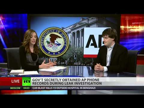 US government spied on Associated Press