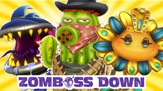 getlinkyoutube.com-Plants vs. Zombies: Garden Warfare - Zomboss Down All Plants!
