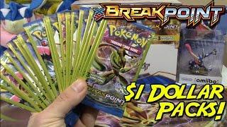 getlinkyoutube.com-Pokemon Cards - Opening 24 BreakPoint Dollar Tree Packs!