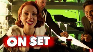 getlinkyoutube.com-Avengers: Age of Ultron: All Bloopers and Outtakes Funny Edit - Robert Downey Jr., Chris Evans