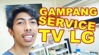 Gampang Benerin TV LED LG Standby VLOG43