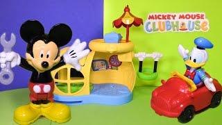 getlinkyoutube.com-MICKEY MOUSE CLUBHOUSE Disney Junior Mickey Mouse Garage a Mickey Mouse Toy Video