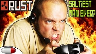getlinkyoutube.com-Rust ▶ SALTIEST MAN CALLS HACKS   Rust Solo Survival #1   RAIDING a CLAN BASE for FREE (vanilla)