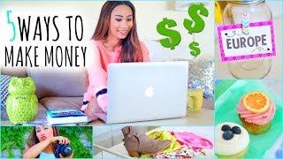 getlinkyoutube.com-5 Ways To Make Money This Summer! ☼ On The Internet