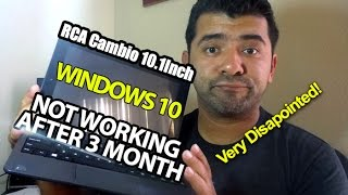 RCA Cambio 10.1Inch Windows 10 Not working after 3 month!