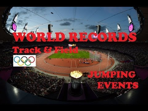 Track & Field World Records in Jumping Events