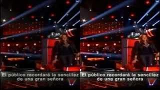 getlinkyoutube.com-PALOMA NEGRA Y BASTA YA  jenni rivera la voz mexico