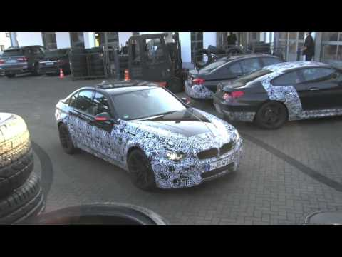 First Video of 2013 BMW M3 (F80) On and Around Nurburgring in Performance Testing!