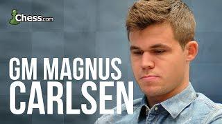 getlinkyoutube.com-Magnus Carlsen Reviews World Championship Game 2 Victory Over Anand