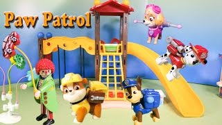 getlinkyoutube.com-PAW PATROL Nickelodeon Paw Patrol Play Ground Balloon Caper a Paw Patrol Toys Video