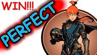 getlinkyoutube.com-ПОБЕДИЛ МЭЙ на PERFECT(1 раунд) без читов на затмении!!! - Shadow Fight 2