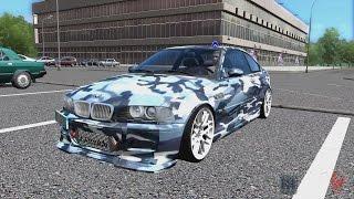 getlinkyoutube.com-City Car Driving - BMW M3 E46 Stanced
