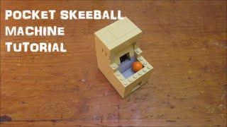 getlinkyoutube.com-How To Build A LEGO Pocket Sized Skeeball Machine