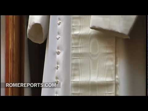 Pope's attire robed in history and tradition