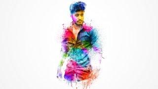 Watercolor Brush Effect Photoshop Tutorial | Photo Manipulation tutorials