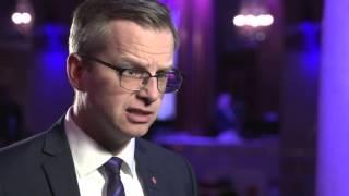 Västerbotten på Grand Hôtel 2016 - Mikael Damberg, närings- och innovationsminister