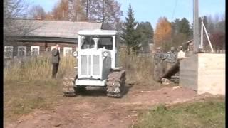 getlinkyoutube.com-Трактор Т-74