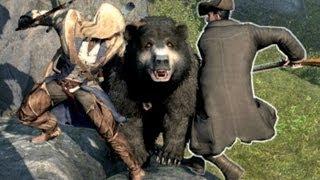 getlinkyoutube.com-Assassin's Creed 3 Funny Stupid Crazy Guards