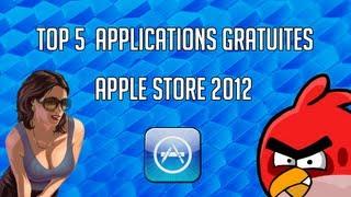 getlinkyoutube.com-Top 5 Applications Gratuite App Store 2013 iPhone iPad & iPod