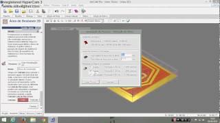 getlinkyoutube.com-Exportar DXF do CorelDraw e criar desbaste no ArtCAM.