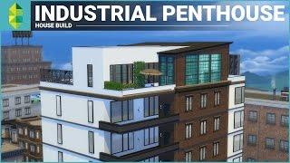 getlinkyoutube.com-The Sims 4 Apartment Build - Industrial Penthouse