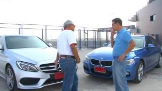 getlinkyoutube.com-Test Mercedes-Benz C250 AMG & BMW 328i by AUTO BILD Thailand.
