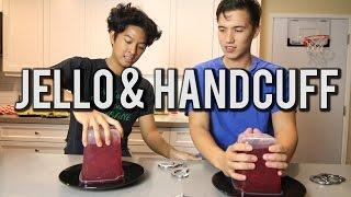 getlinkyoutube.com-Jello & Handcuff Challenge!!