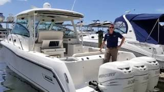 2015 Boston Whaler 345 Conquest Boat For Sale at MarineMax Sarasota