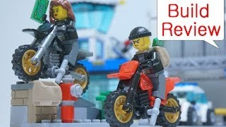 getlinkyoutube.com-Lego City Police 60042 High Speed Police Chase - Build Review