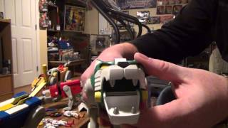 getlinkyoutube.com-2012 Mattel Voltron Toy Review