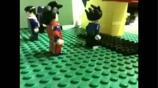 getlinkyoutube.com-Lego Dragonball Z Tournament battle